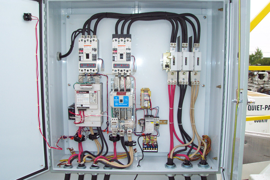 Custom electrical panels calrose electric ltd for What size electrical panel do i need